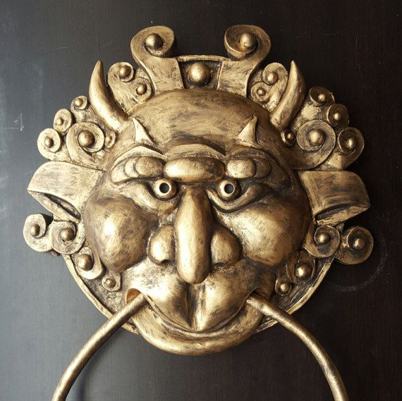 The Labyrinth Right Door Knocker By MeadowhawkProps On Etsy