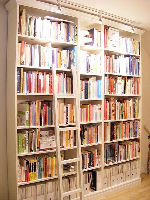 38++ Home library bookcases with ladder ideas in 2021