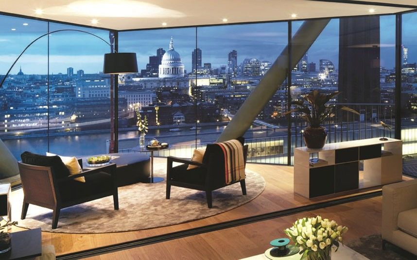 Its Type F Apartments Offer Three Bedrooms High Ceilings And Astonishing Views Over London S