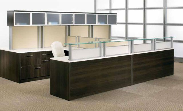 Reception Furniture Desk Table Cubicles Used Office