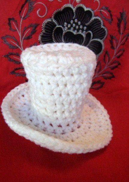 Mini Top Hat Easy Crochet Pattern | crochet | Pinterest | Häkelideen