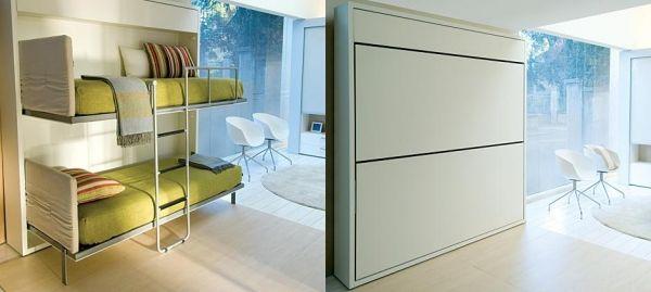 platzsparende etagenbetten schrank wohnzimmer m bel. Black Bedroom Furniture Sets. Home Design Ideas