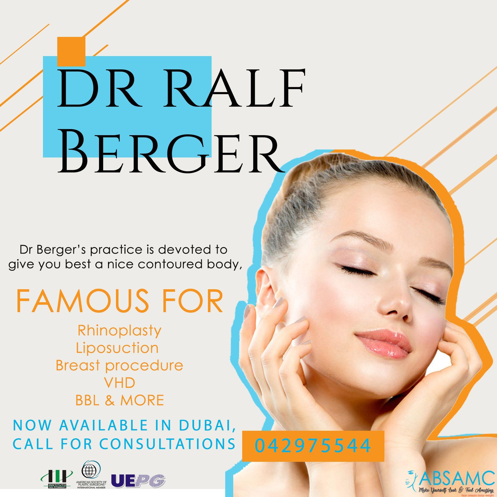 Dr ralf berger rhinoplasty laser liposuction liposuction