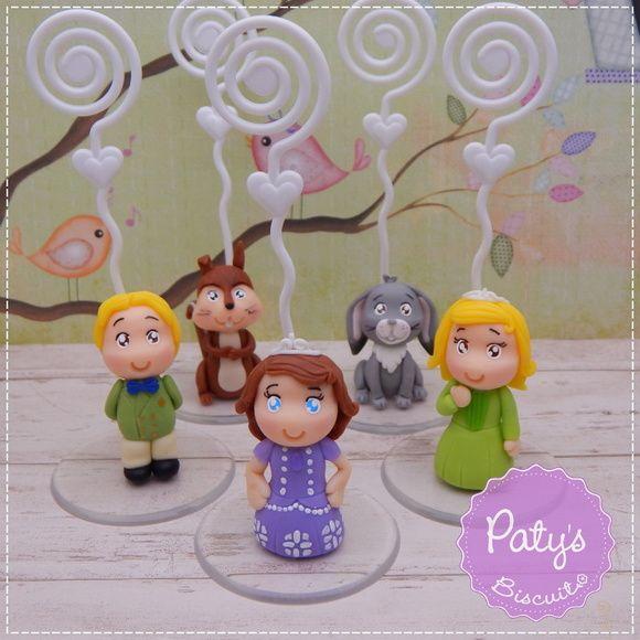 Porta Recados Princesa Sofia - Festa Infantil - Paty's BIscuit