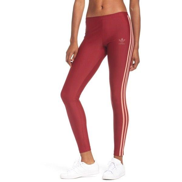 Women's Adidas Originals Leggings ($40) ❤ liked on Polyvore