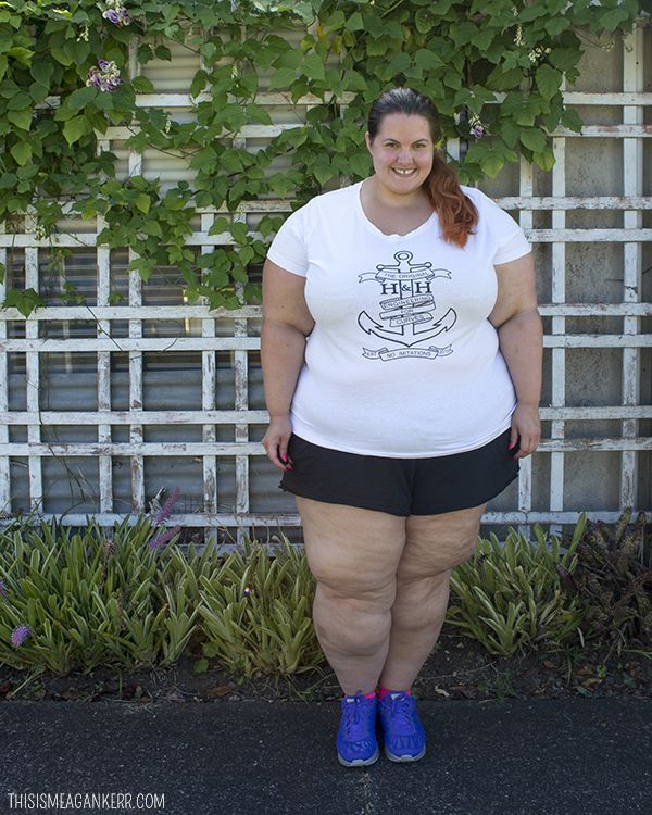 this is meagan kerr: who wears short shorts? | body positivity and