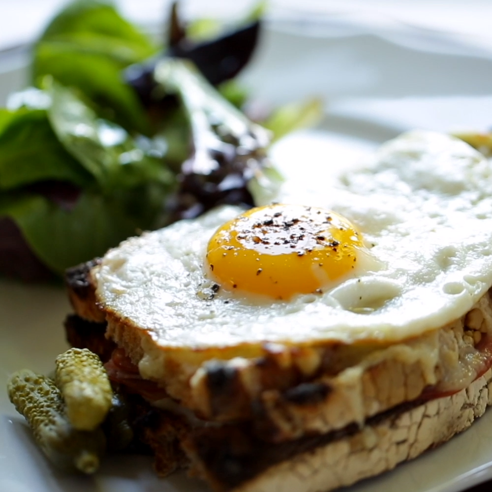 How-To Make a Croque Madame and Croque Monsieur At home