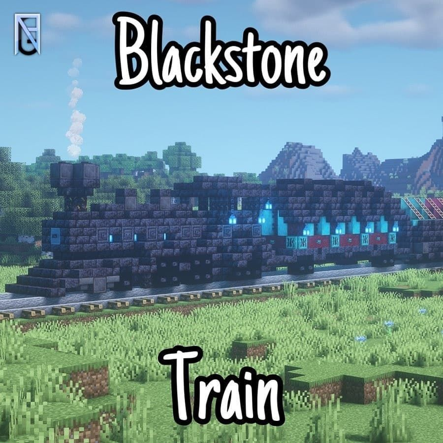 Blackstone Train Built Follow Nrgbuilds For More Minecraft Buildings Ideas Designs Shaderp In 2020 Minecraft Blueprints Amazing Minecraft Minecraft Projects