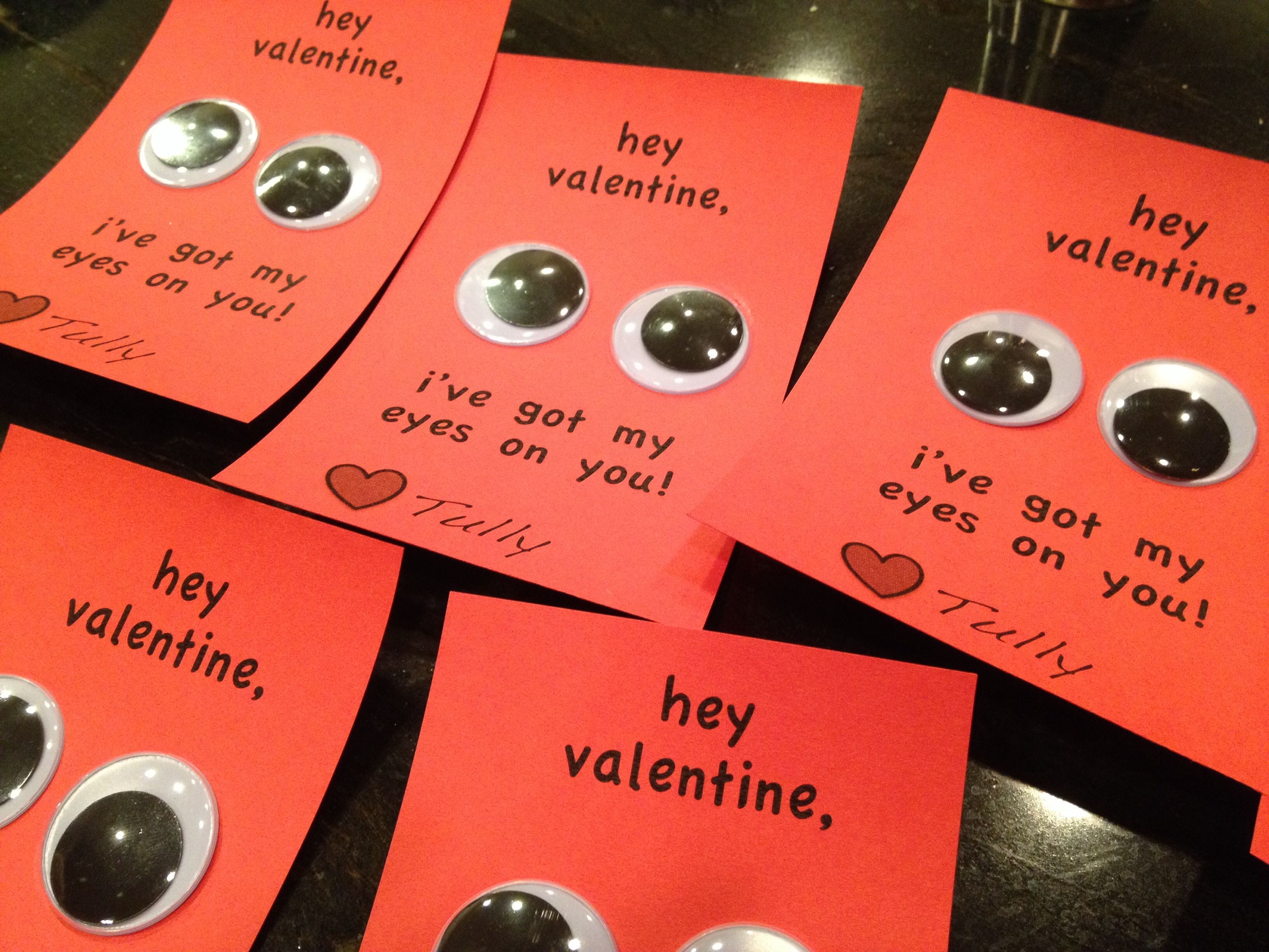 Candyfree Valentines Day cards for preschool Toddler helped – Toddler Valentines Day Cards