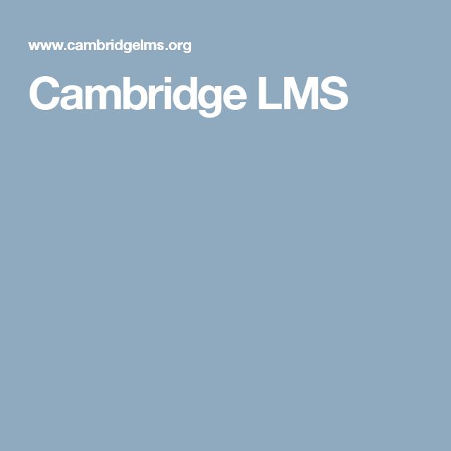 Cambridge Lms Educacion