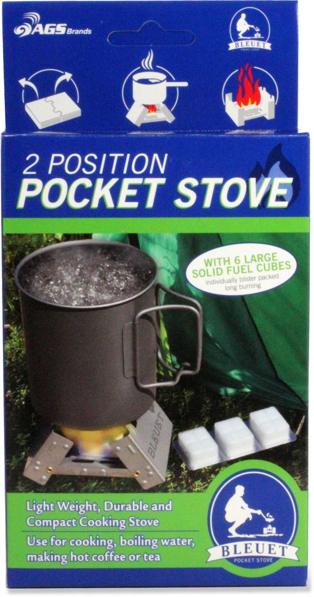 The Bleuet Pocket Stove and Fuel works great in a pinch! REI ...