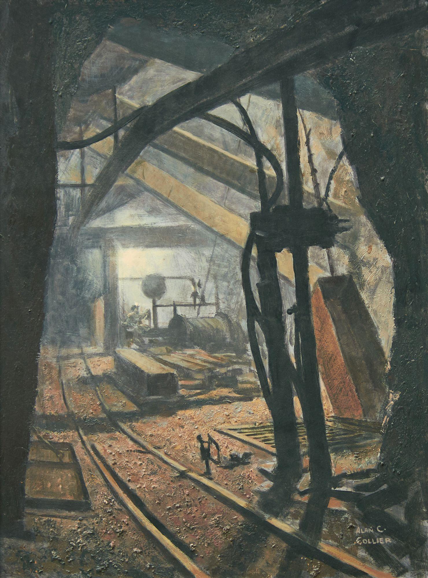 Alan Caswell Collier (19111990) The 4025 Hoist