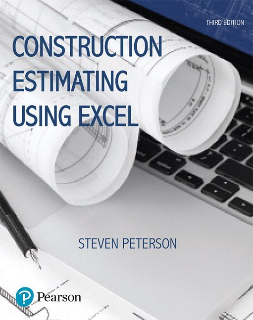 construction estimating using excel 3rd edition peterson test bank