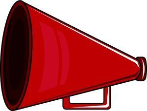 free megaphone clipart megaphone clip art images megaphone stock rh pinterest com free cheer megaphone clipart free clipart megaphone announcement