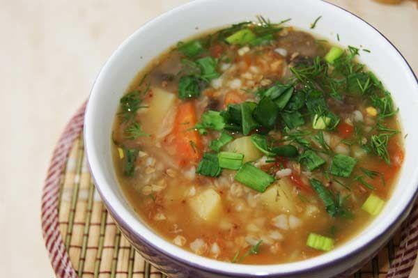 Гречневый суп с курицей - Вкусный рецепт с фото | Еда ...