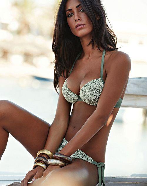 97c0dc2c4e2b Bikini con reggiseno push up collezione Goldenpoint estate 2016 ...