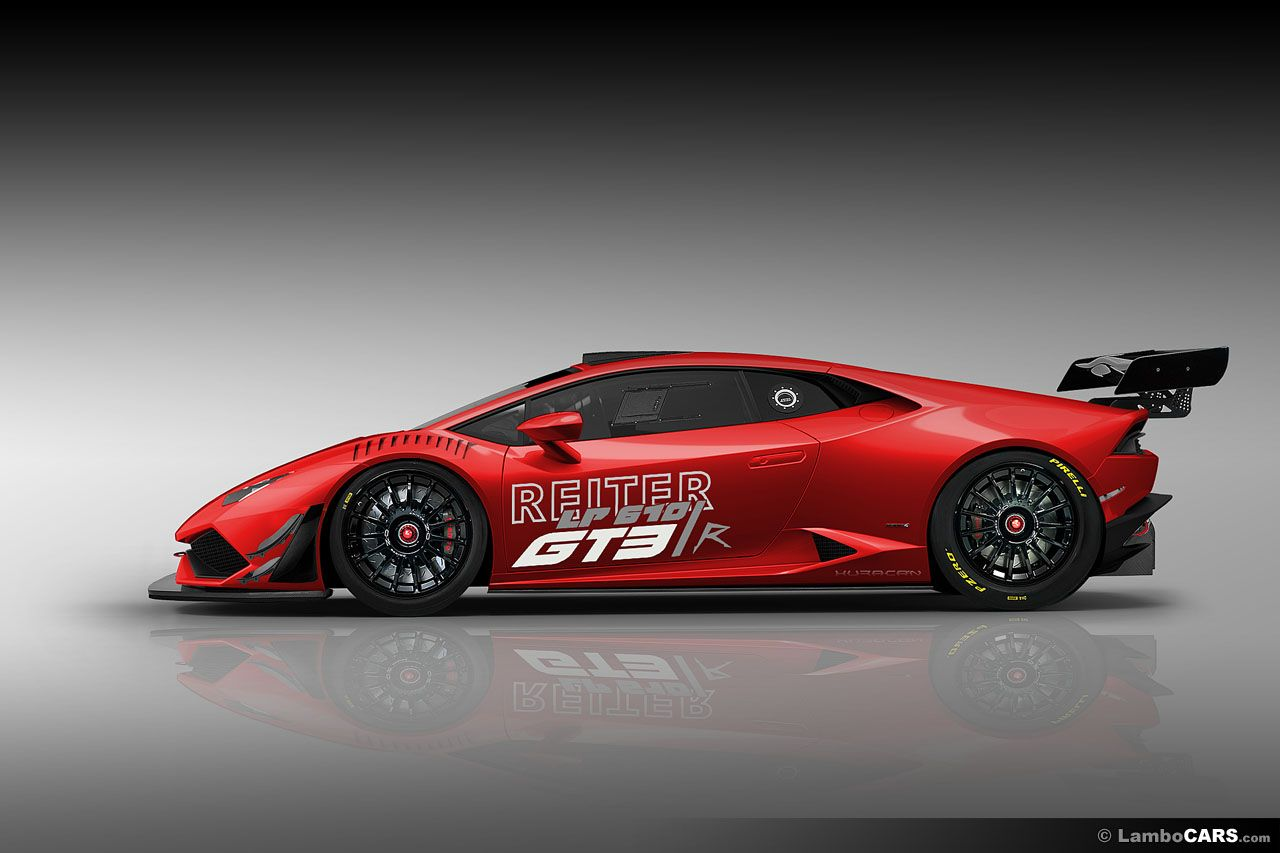 Lamborghini Huracan GT3 Race Car Render