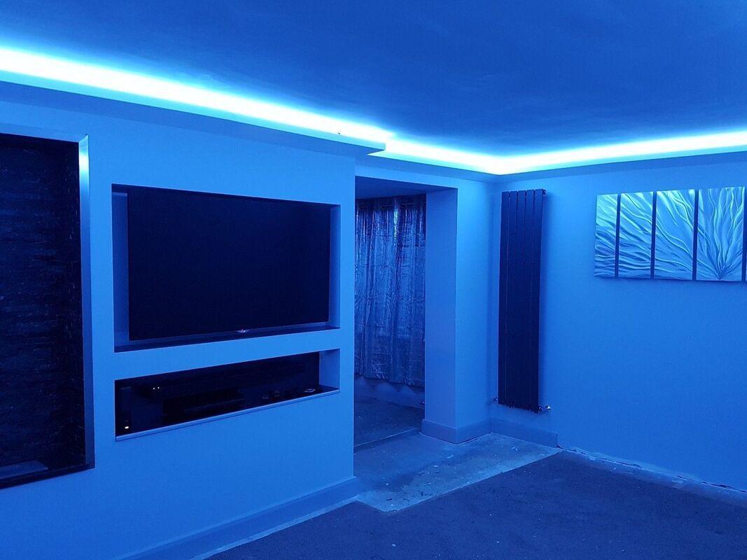 Led Lighting Coving Uplighting Coving Wm Boyle Uk Cornice Range Ceiling Design Orac Decor Indirect Lighting