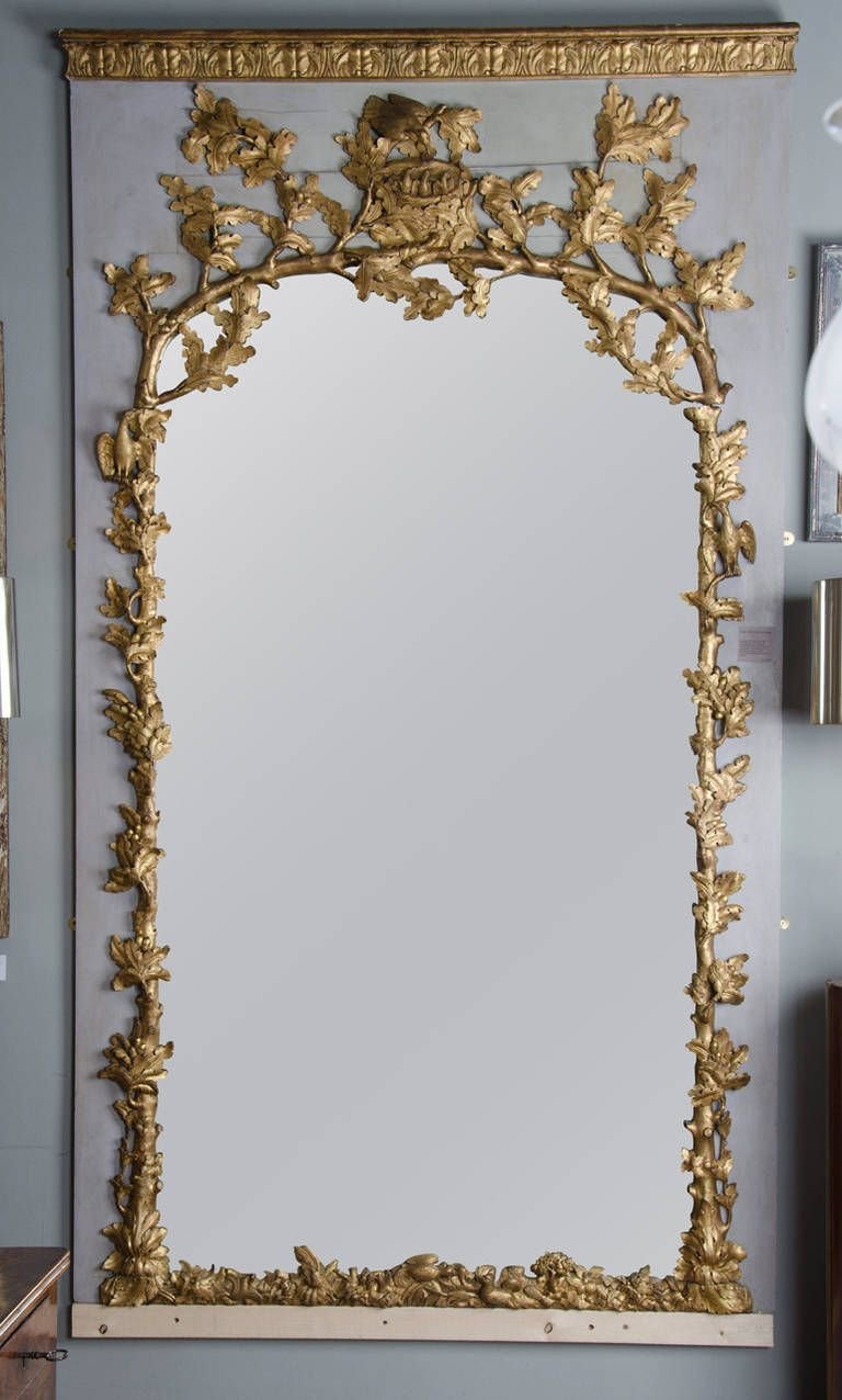 Large 18th century french trumeau 18th century and for French mirror