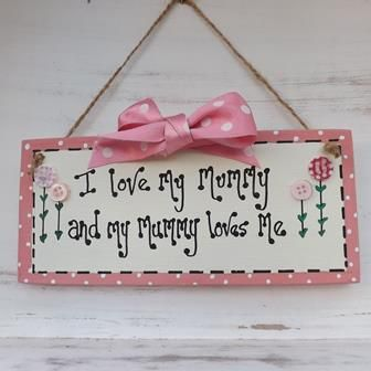 Mothers Day Plaque Mothers Day Crafts Diy Mothers Day Gifts