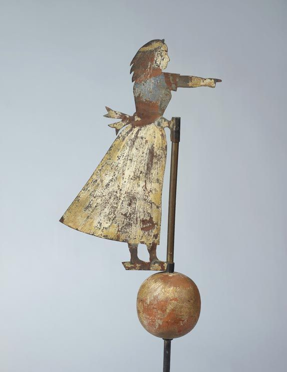 Copper Weathervane Weather Vanes American Folk Art Folk Art
