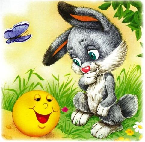 является картинка из русских сказок зайчика котлеты куриного