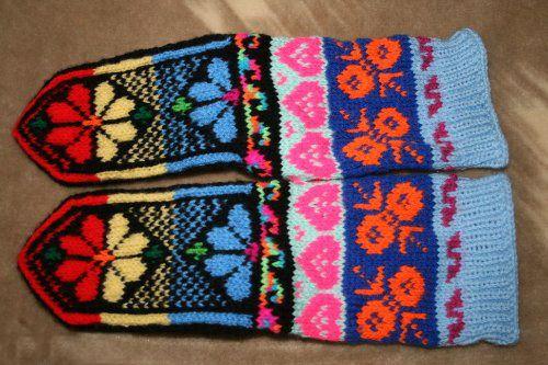 Dzhuraby esquema de tejer, modelo / Artículos / calcetines de lana Home cálidos Dzhurabki.ru
