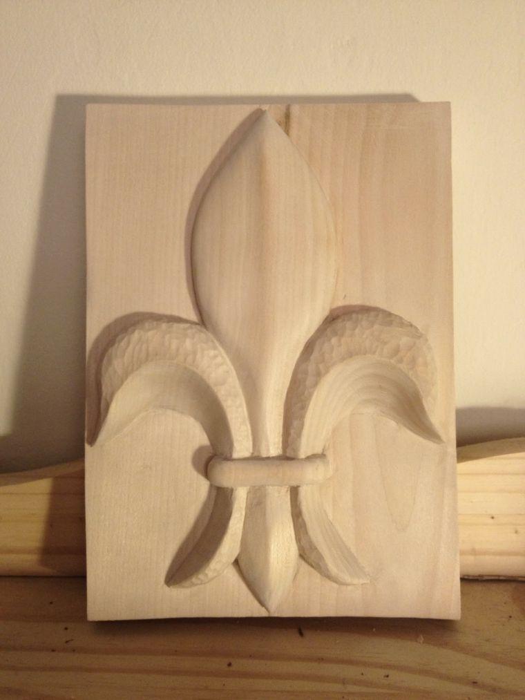 trabajos manuales en madera Gallo Pinterest Madera