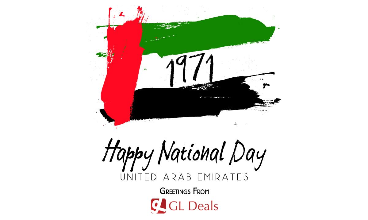 Happy Uae National Day Greetings From Gl Deals Httpgldeals