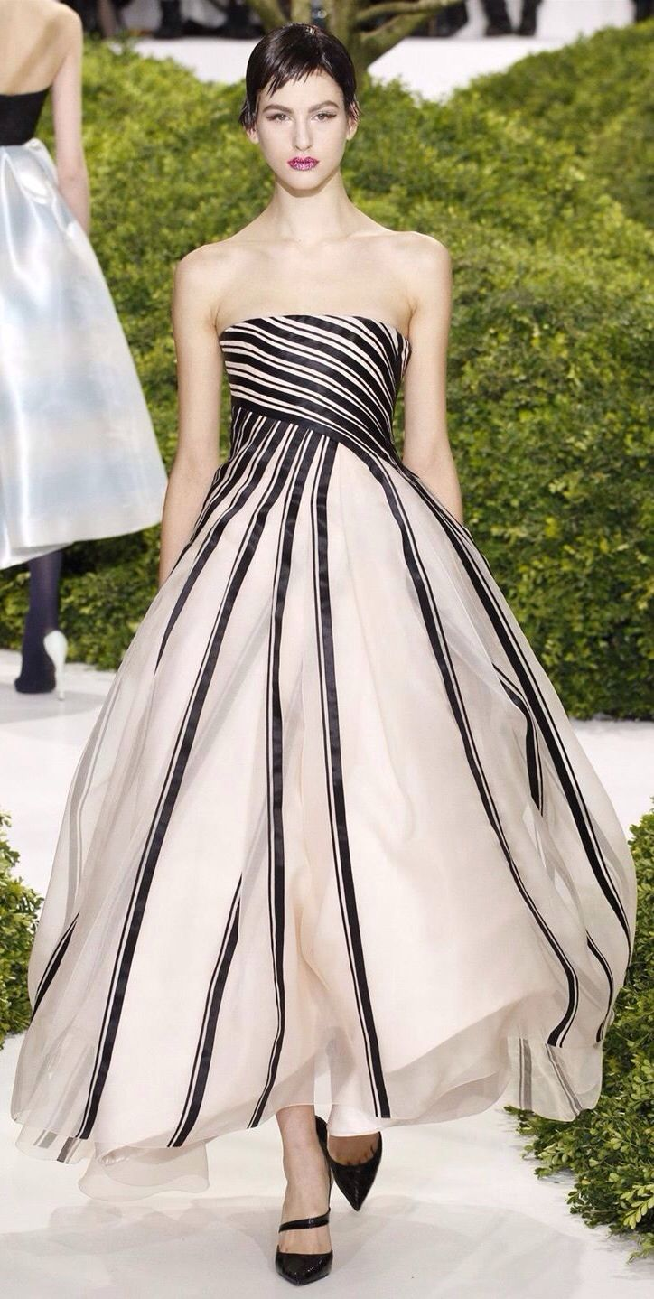 Sleeveless nude gown with black stripes gowns u dresses gray gold