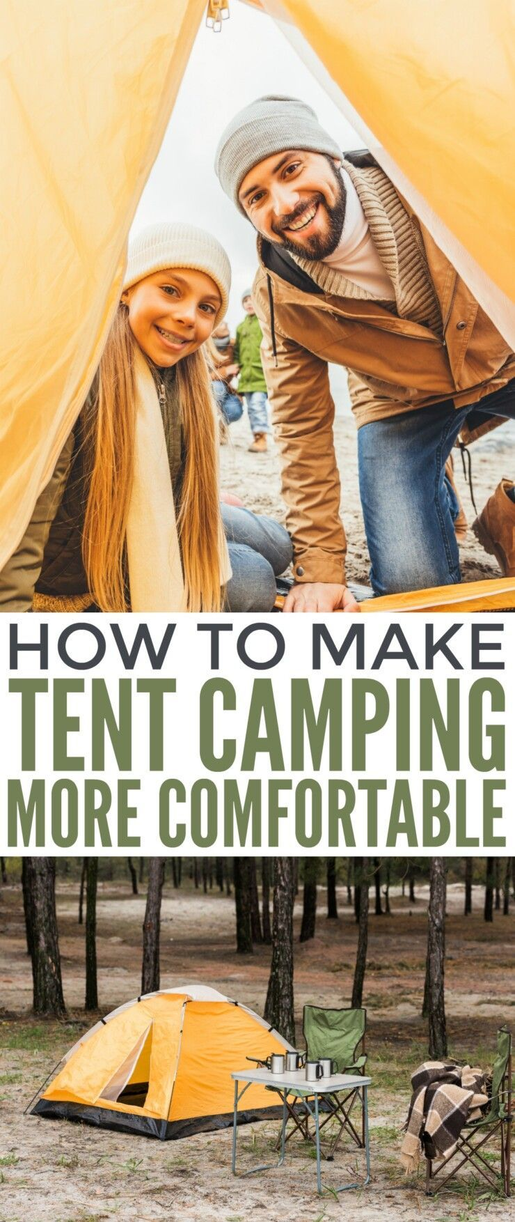 making tent camping more comfortable  zeltcamping komfortabler machen making tent camping more comfortable  Familiale tent camping  Design tent camping  Astuces tent camp...