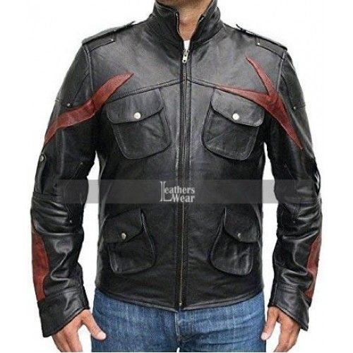 Prototype James Heller Sgt Game Jacket Leather Jackets Online Tall Men Clothing Leather Jacket