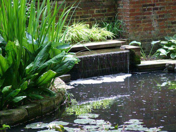 étang déco de jardin