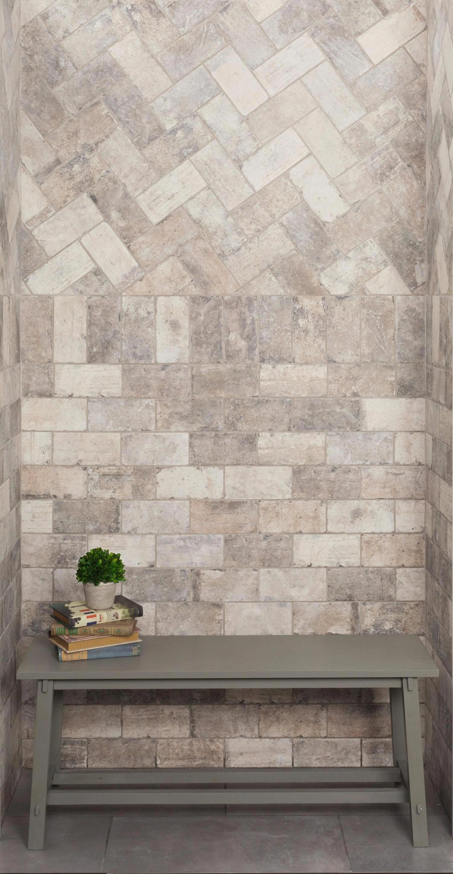 New York Soho Brick Look Porcelain Tile in 2020 (With