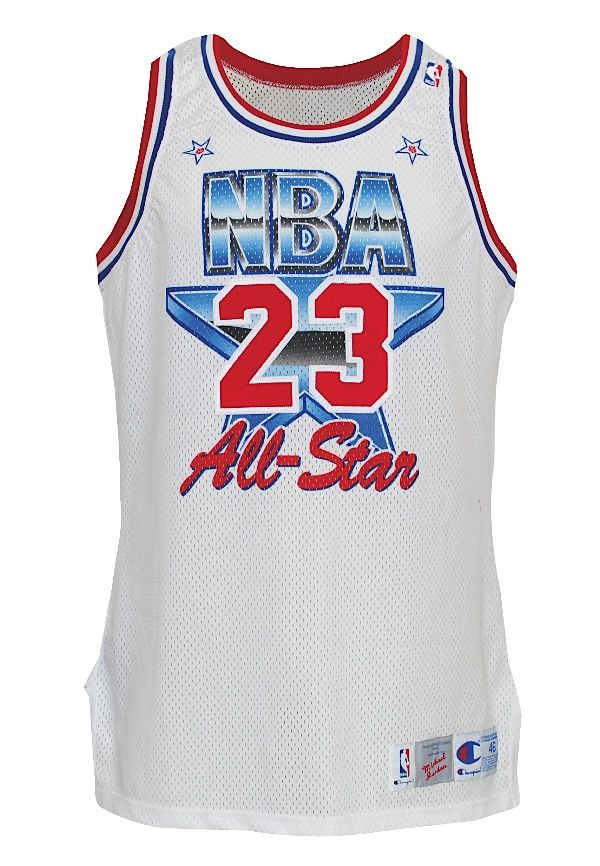 41dfec3f6542 1991 Michael Jordan NBA All-Star Game-Used Eastern Conference Jersey ...