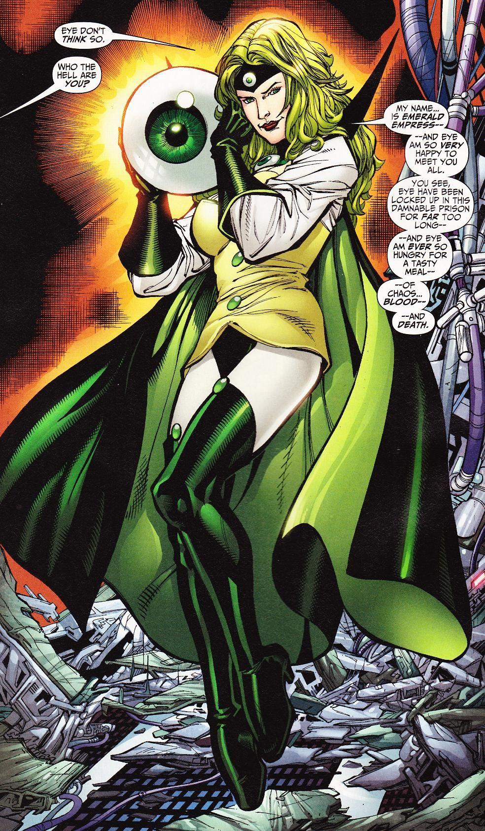 Emerald Empress (Character) - Comic Vine | Cosplay