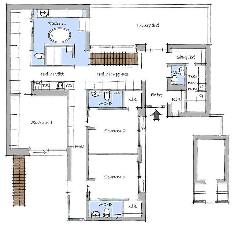 Villa Nilsson Homeadore House Plans House Floor Plans Modern Beach House