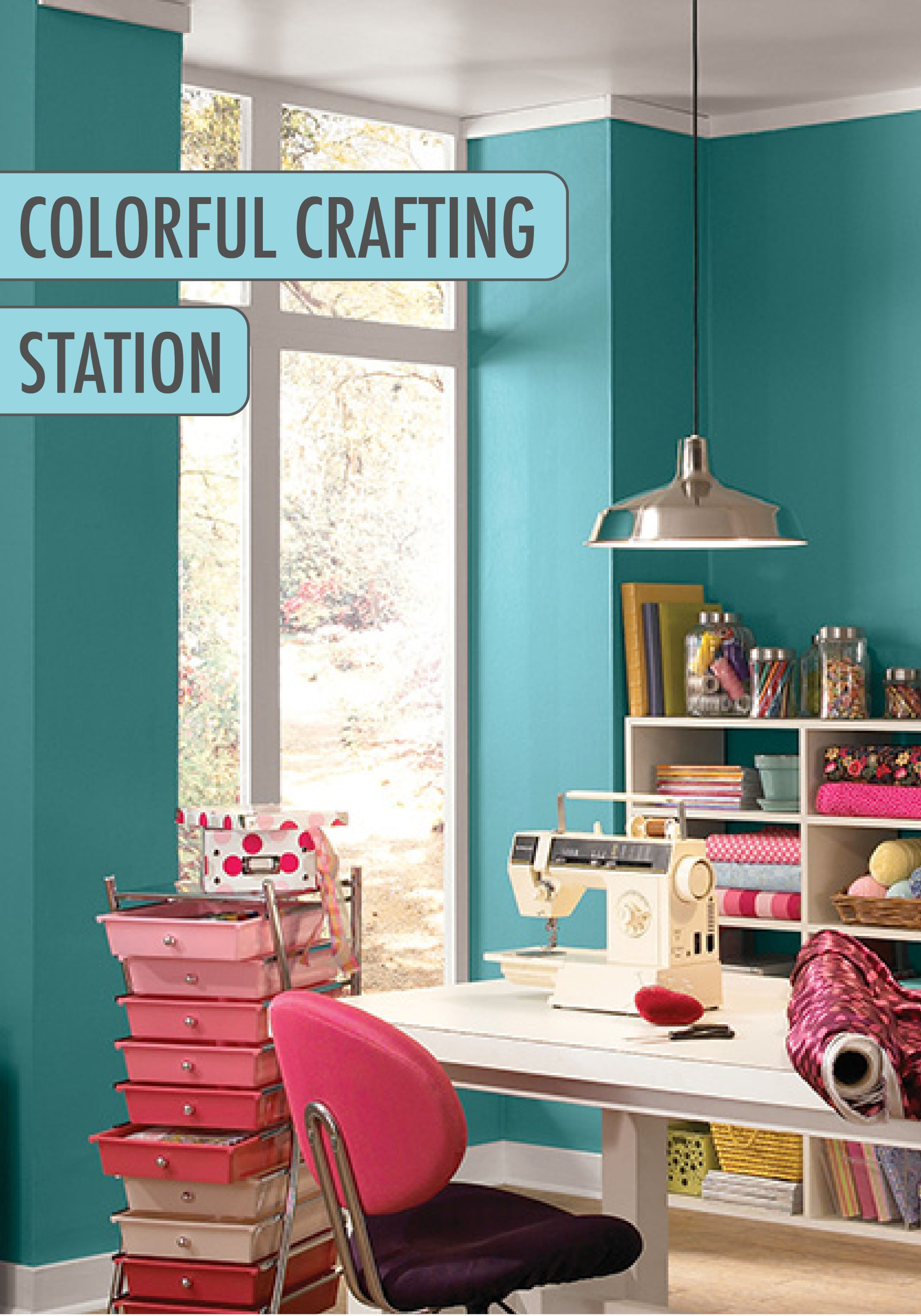 Everyone Needs An Uplifting Paint Color In Their Office Or Worke To Help Bring Energy And