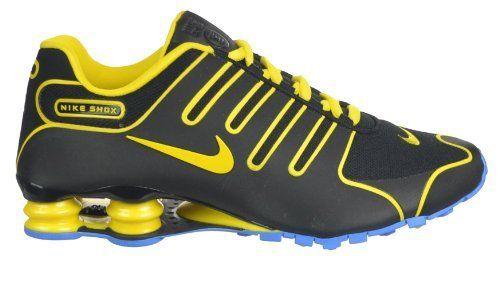 ... get nike shox nz mens shoes black yellow light blue black yellow light  a87f5 621eb 9de0b6cc9