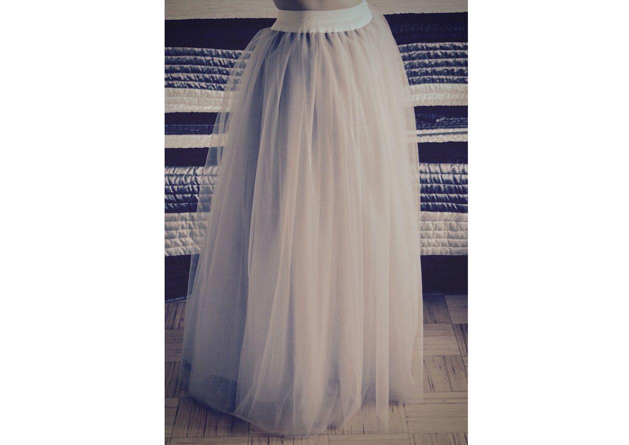 Floor length tulle skirt for women tulle maxi skirt long tulle skirt