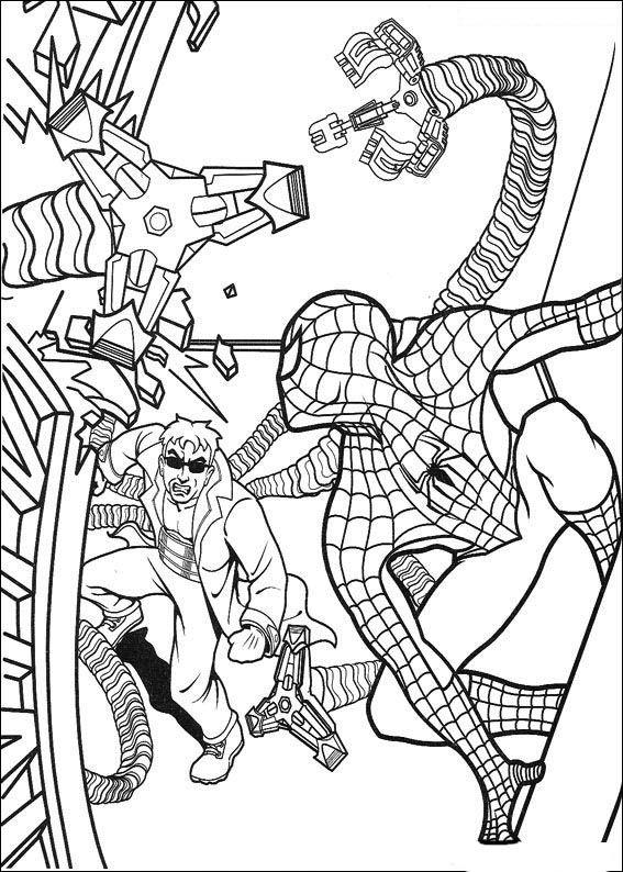 spiderman 59 ausmalbilder für kinder malvorlagen zum