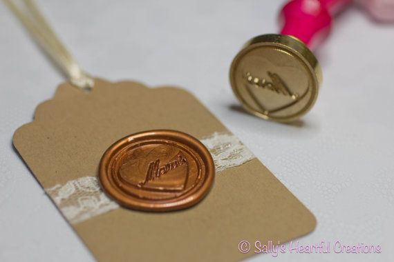 Merci Peel  and Stick Flexible Wax Seals 1.3 Inches by smithrj18, $60.00