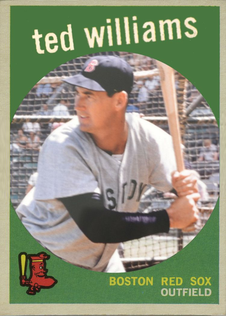 1959 topps ted williams card that never was topps did
