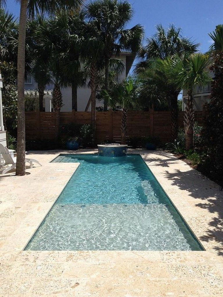 50 Stunning Tropical Home Design With Mini Pool Page 48 Of 54 Small Swimming Pools Small Pool Design Swimming Pool Designs