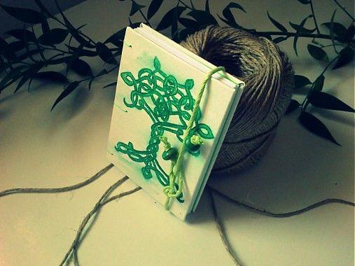 ardeas / Strom života (zapisnik A7) handmade bookbinding