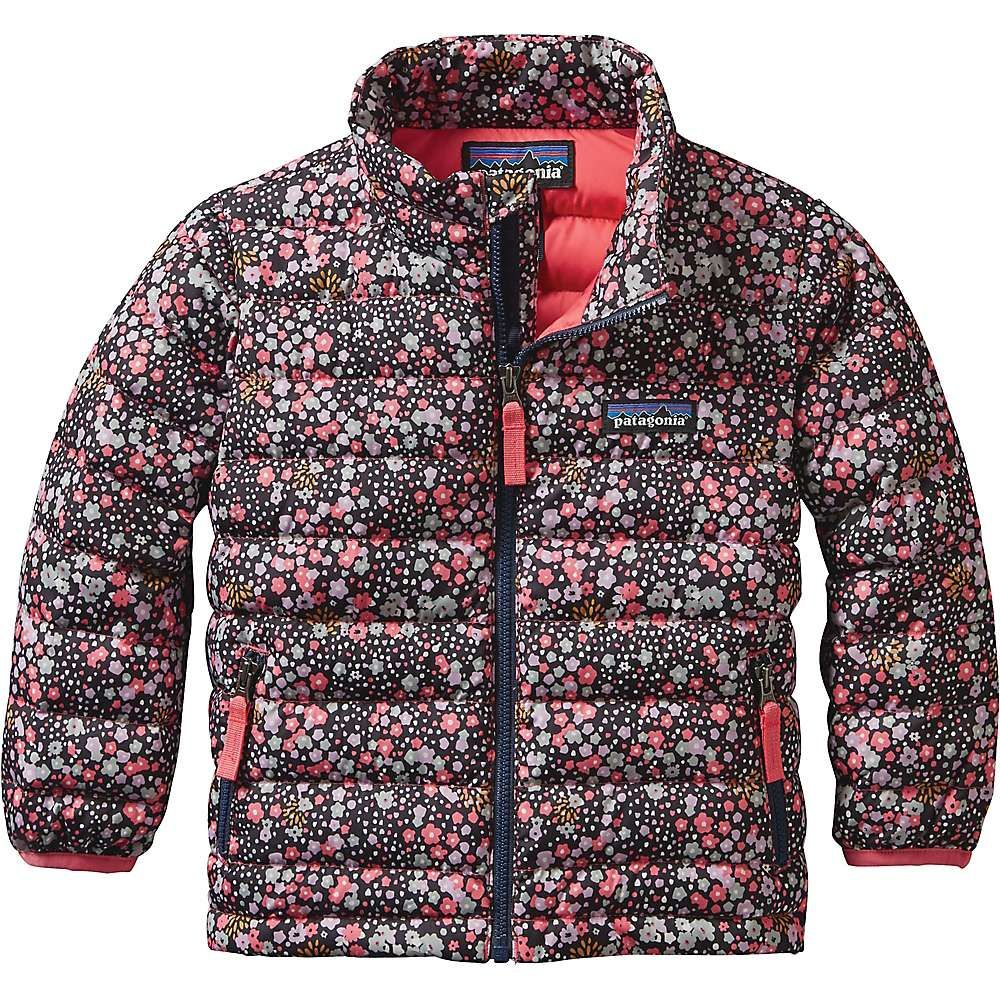 10d66b512 Patagonia Baby Down Sweater - 12-18M - Flurry Floral   Navy Blue ...