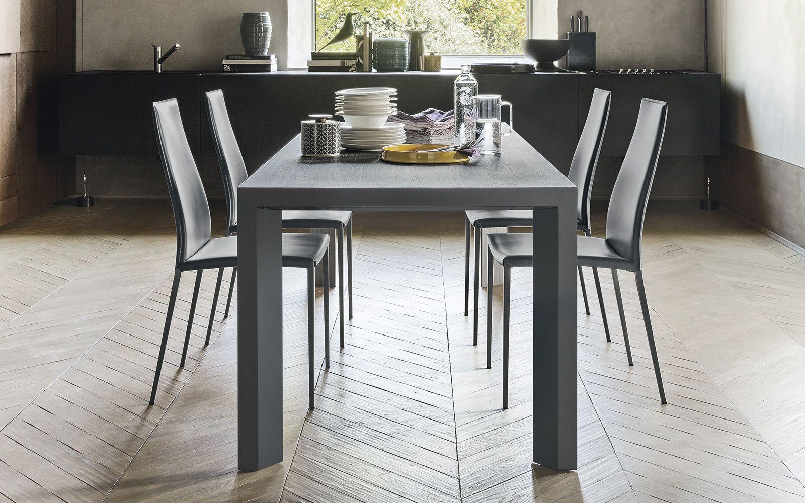 Tavoli Da Cucina Calligaris : Tavolo allungabile in legno e metallo lam calligaris cs ml