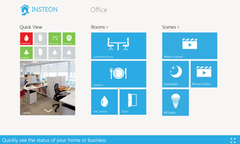 Insteon For Hub Universal Windows App Released For Home Automation Fans Home Automation Smart Home Universal Windows