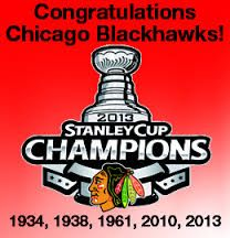 Blackhawk Stanley Cup Championship years...so far