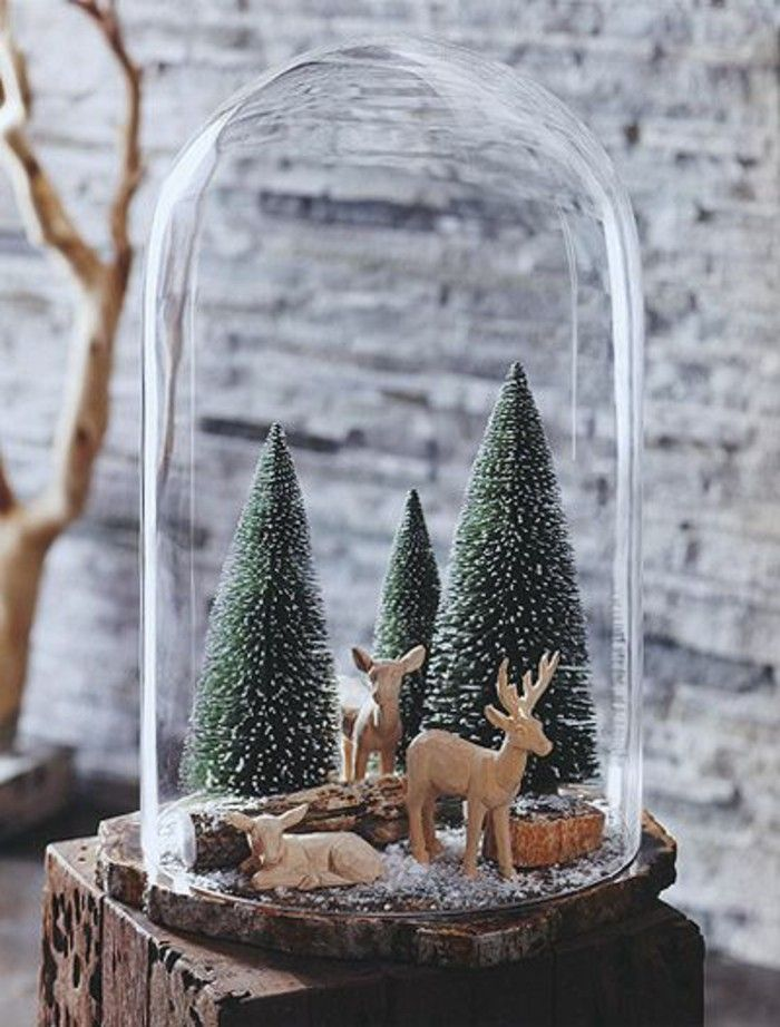 40 Christmas Decorate For The Holidays With Bell Jars Christmas Amazing Bell Jar Decorating Ideas